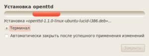 Процесс установки deb-пакета в Ubuntu