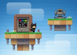 Nikki and The Robots пиксельный платформер