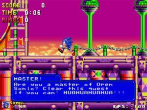 Open Sonic - Sonic Run