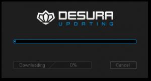 Загрузка компонент клиента Desura