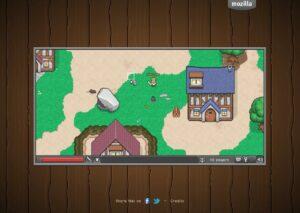 BrowserQuest окно игры
