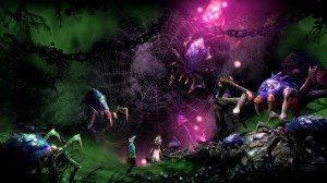 Trine 2: логово пауков
