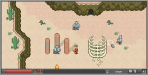 BrowserQuest пустыня