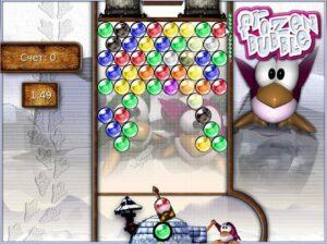 Frozen Bubble одиночная игра
