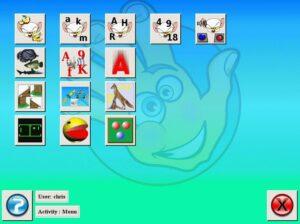 меню игр в Childsplay