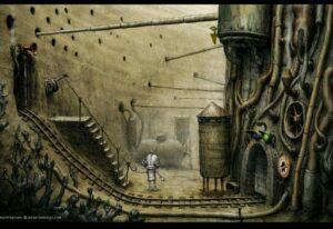 В канализации города Machinarium