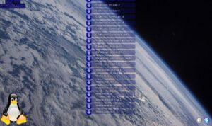 TuxMath - Первая страница меню упражнений