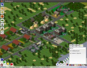 игровое поле LinCity-NG 2.0