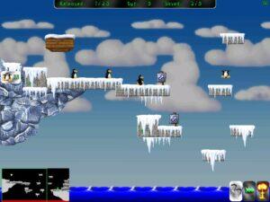 обрывы и прыжки в Pingus