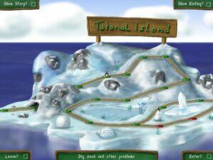 Карта игры Pingus