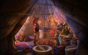 Скриншот The Book of Unwritten Tales (Книга ненаписанных историй)