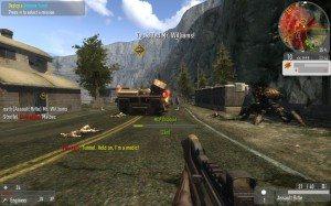 Игровой процесс Enemy Territory: Quake Wars