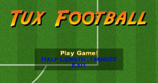 tux football linux
