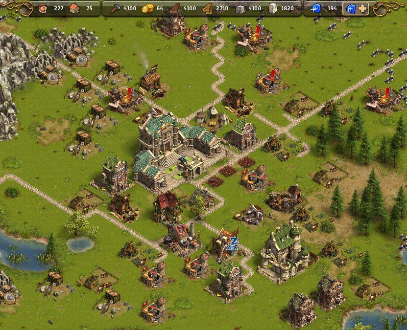Игры с Развитием Поселения
