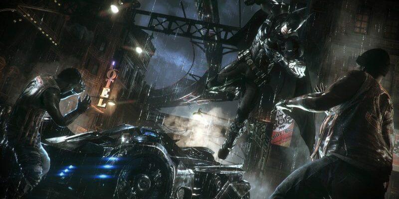 Arkham Knight Batman linux