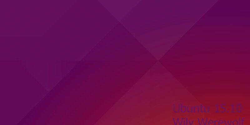 wily werewolf ubuntu 15.10