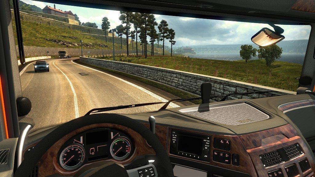 реалистичность Euro Truck Simulator 2
