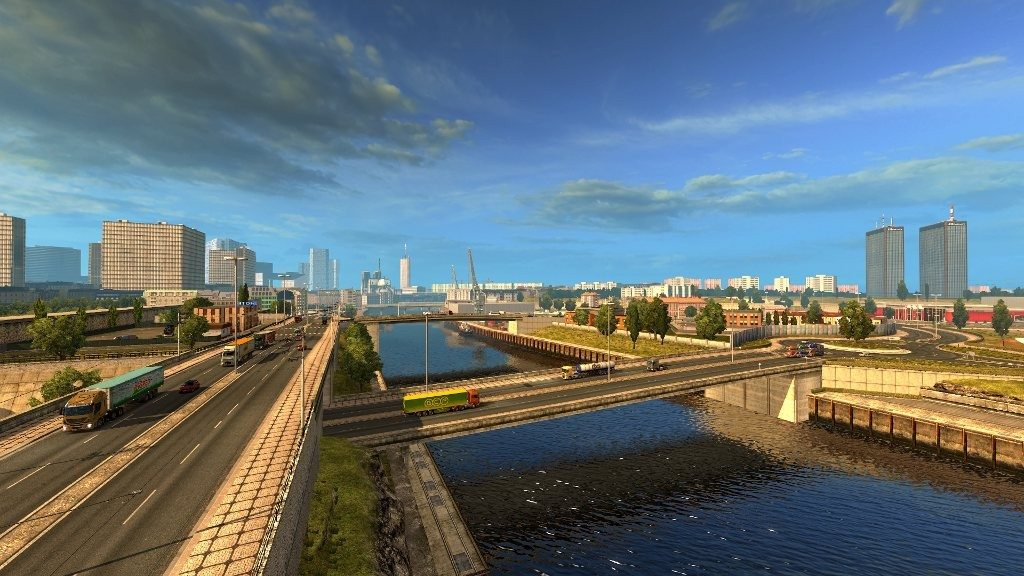 локации Euro Truck Simulator 2