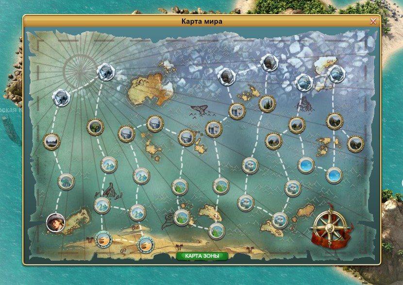 карта pirate storm
