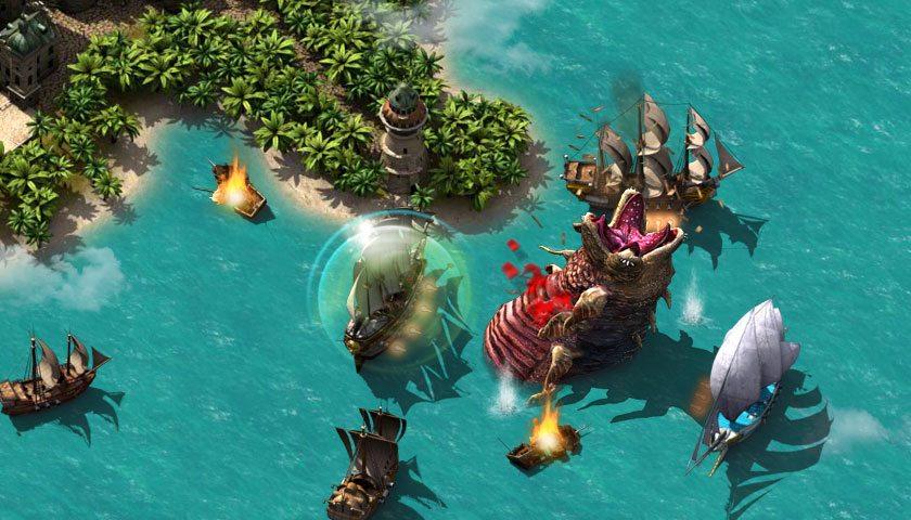 битва с монстром pirate storm