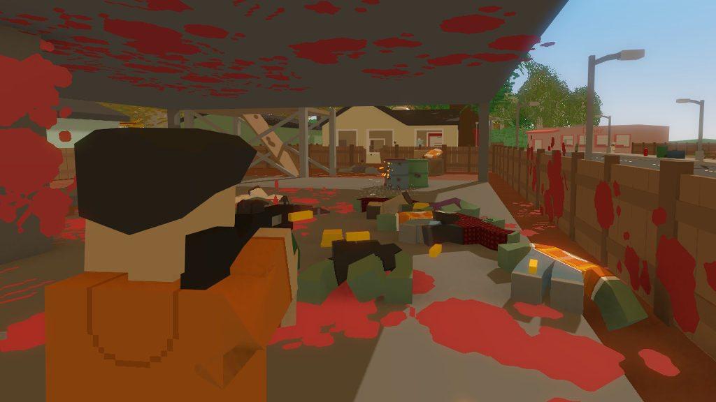 онлайн игра про выживание зомби - unturned