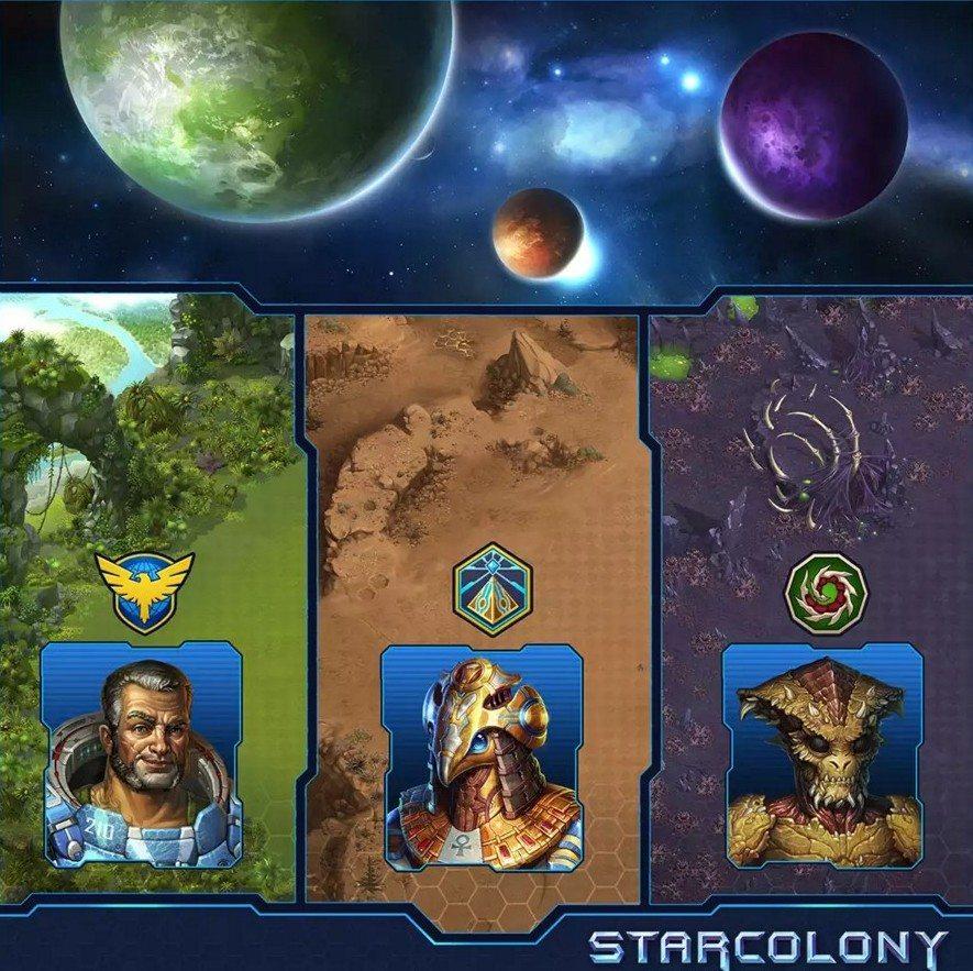 расы в star colony