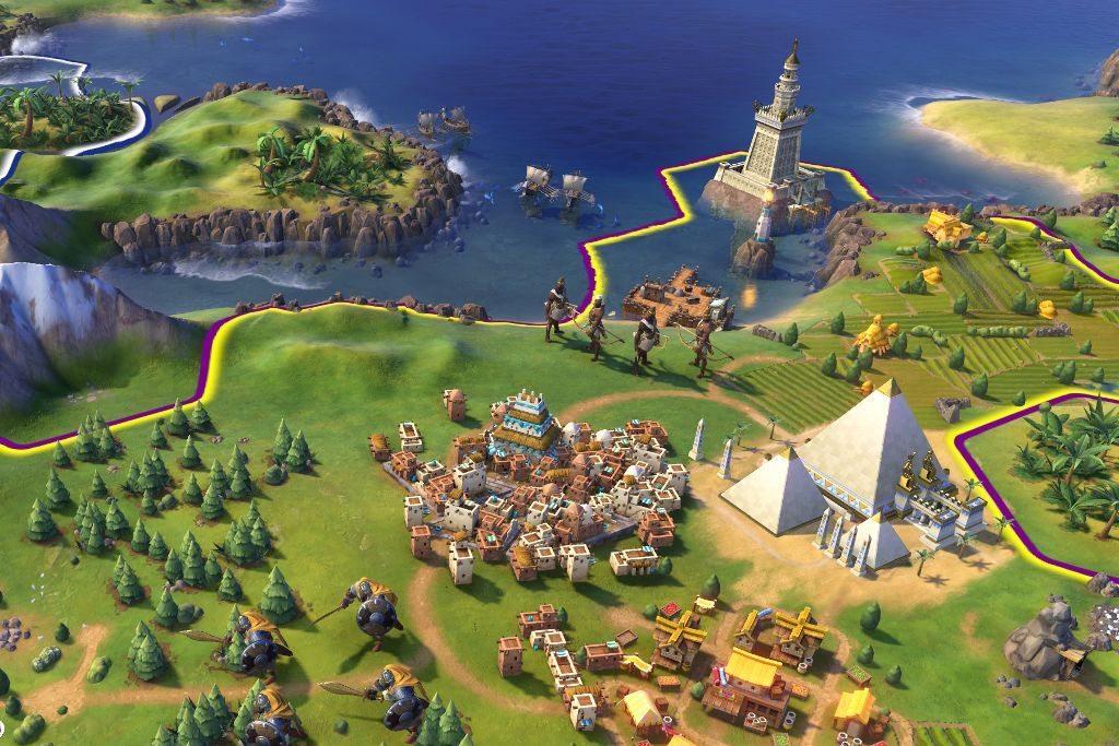 civilization 6 юниты