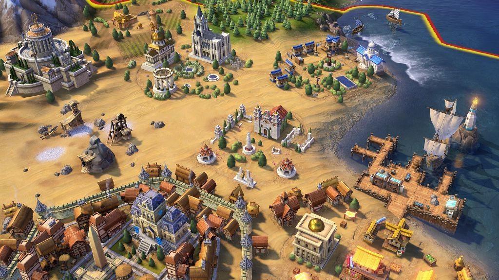 civilization 6 город
