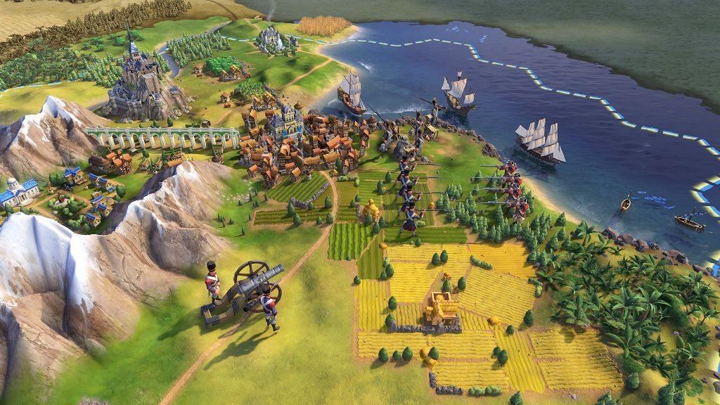 civilization 6 боевые еденицы