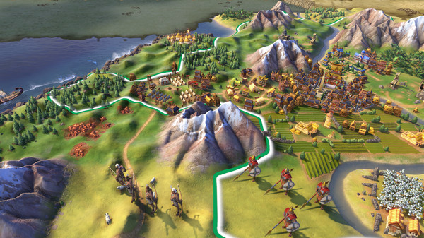 Кросс-платформенная сетевая игра в Civilization 6