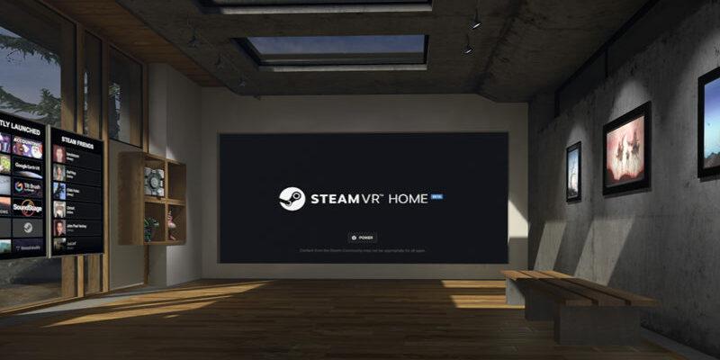 Steam VR Home в Linux