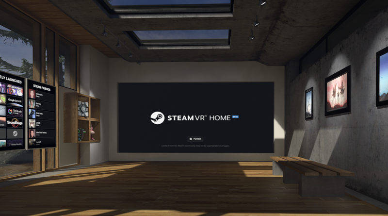 Steam VR Home в Linux