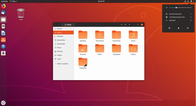 новая тема ubunt 18.04