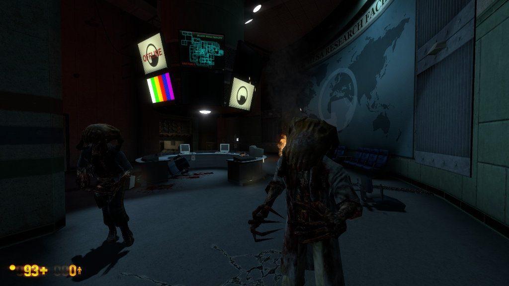 Монстры в Black Mesa