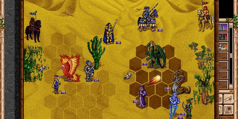 fheroes 2 battle