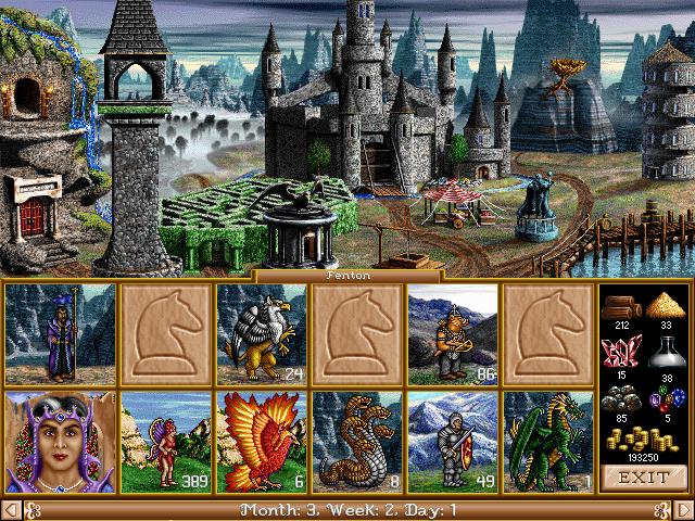 fheroes 2 castle